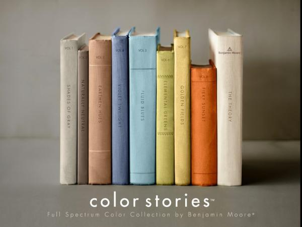benjamin moore color stories