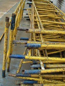 yellow-scaffolding