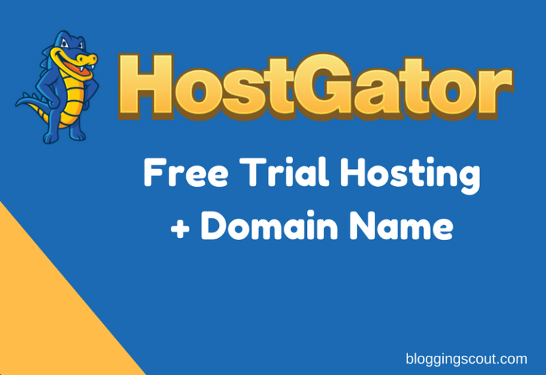 hostgator free trial hosting