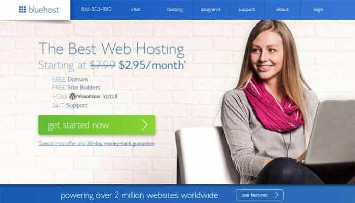 How To Start A Blog - BlueHost