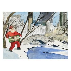 Tony Bennett American Cancer Society Christmas Card