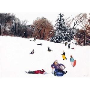 Tony Bennett Central Park painting