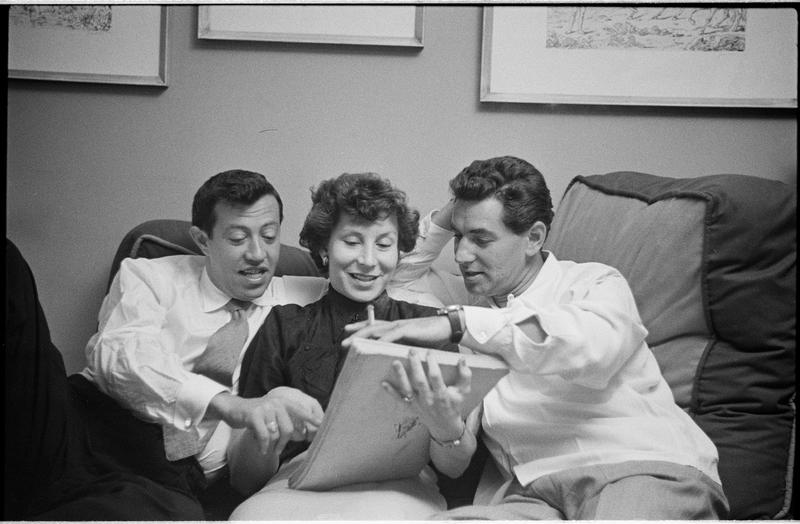 Adolph Green, Betty Comden, Leonard Bernstein
