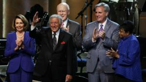 Tony Bennett and the Library of Congress Gershwin Prize Award