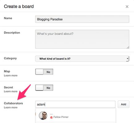 Create Group Board