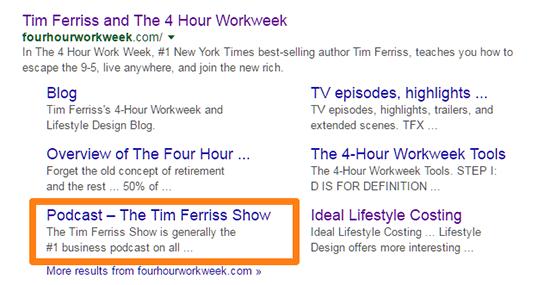 Podcast Tim Ferriss Show
