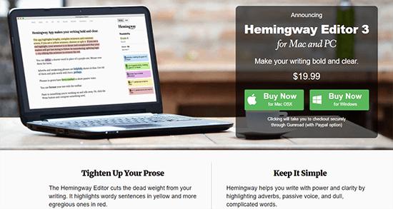Hemingway App
