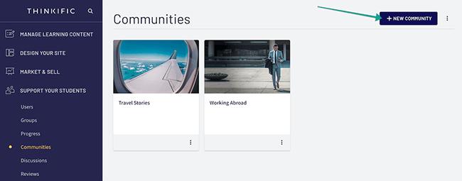 Thinkific - Community