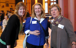 Catherine Hollis, Lois Gilmore and Barbara Lonnquist