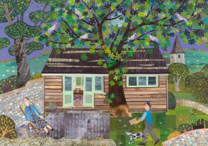 After the Waves: Virginia Woolf's Writing Lodge