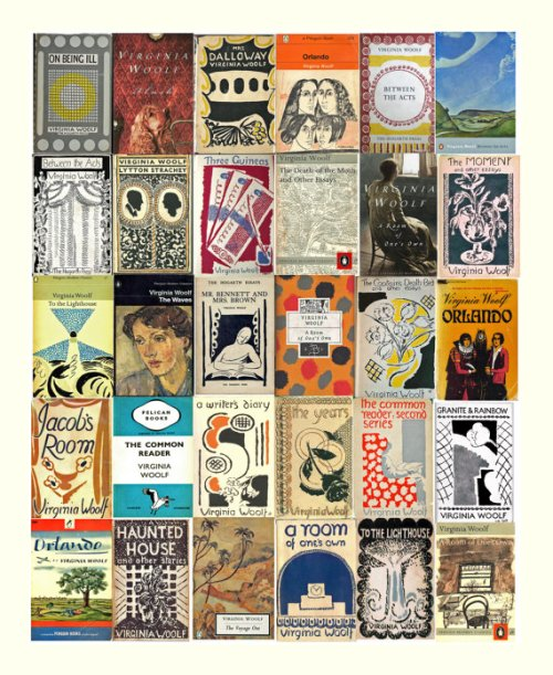 Woolf cover collage