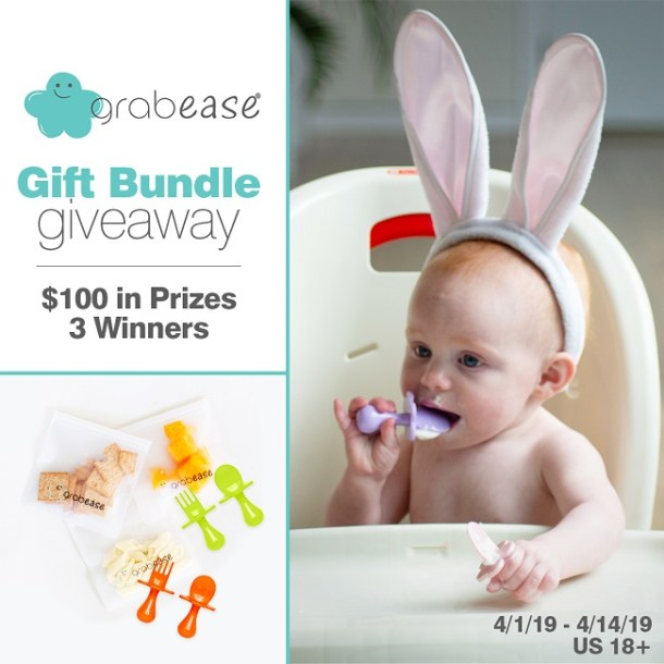 Grabease Gift Bundle Giveaway- Ends 4-14-19- 3 Winners- $100 in prizes