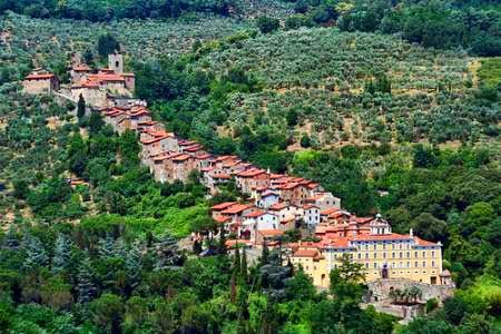 Village of Colloidi in Italy.