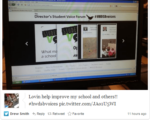 Documenting West Cluster Tweets – @Storify #HWDSBvoices