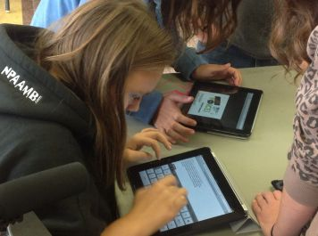 Blogging with the iPads and Wordpress App