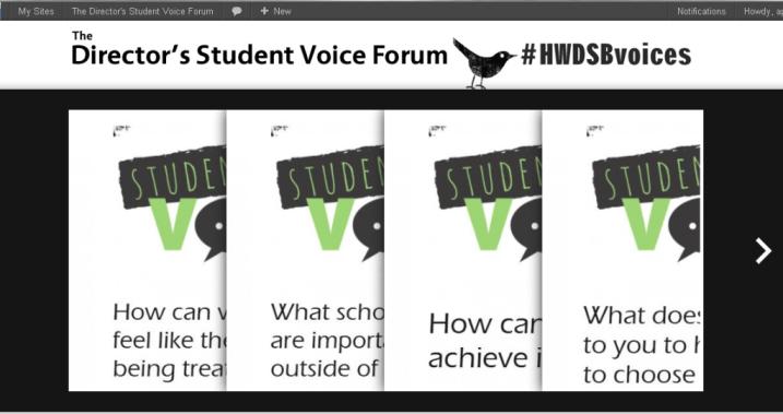 Student Voice Forum 2012