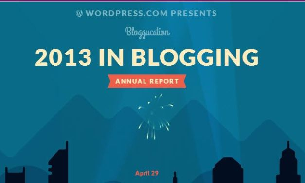 2013 Annual Report for Bloggucation