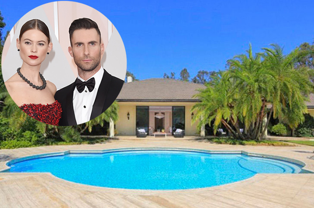 Адам Ливайн и Бехати Принслу продали дом за 18 миллионов долларов: фото роскошного особняка