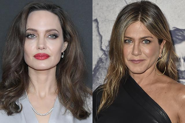 """Анджелина Джоли и Дженнифер Энистон встретятся на """"Золотом глобусе – 2018"""""""