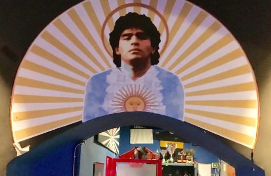 El dios Maradona