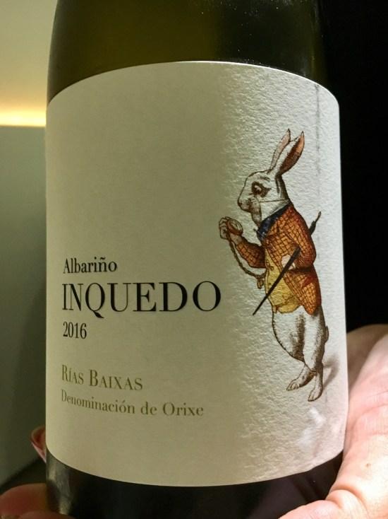 Inquedo albariño Rías Baixas