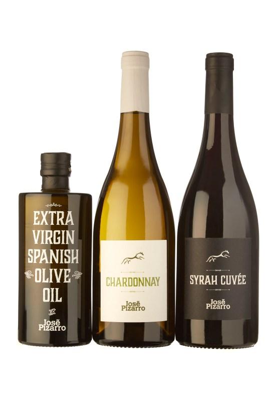Aceite y vinos de José Pizarro