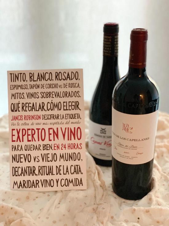 Experto en vinos en 24 horas de Jancis Robinson. Planeta Gastro