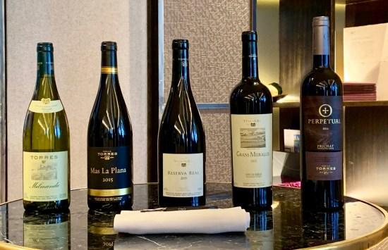 Nuevas añadas de vinos Antología de la Familia Torres