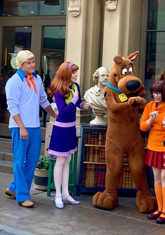 Personajes de la serie de dibujos animados Scooby-Doo