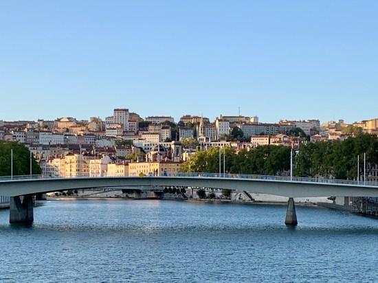 La zona de la Croix-Rousse de Lyon