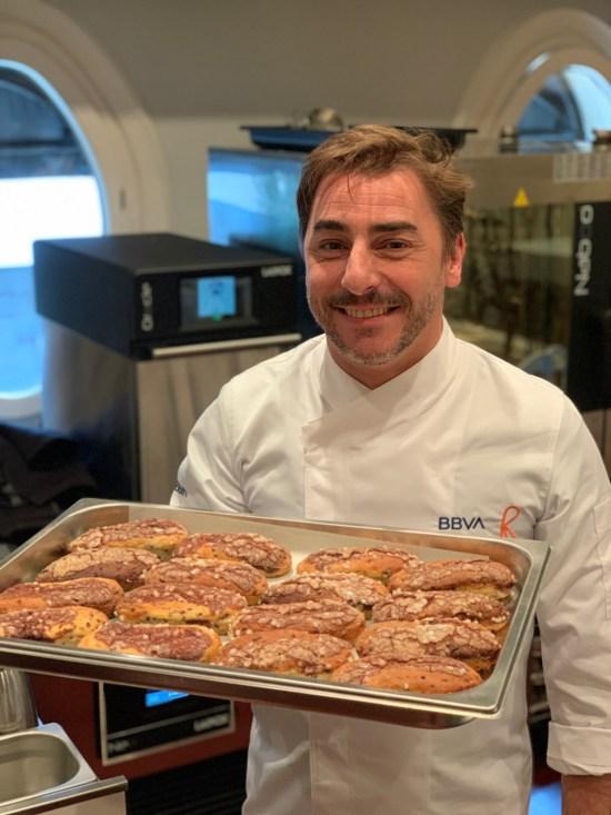 Chef pastelero Jordi Roca