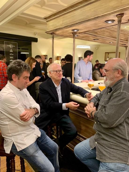Josean Alija, Juan Echanove, Fernando Huidobro