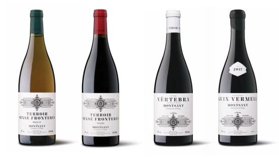 botellas de vino de Terroir Sense Fronteres
