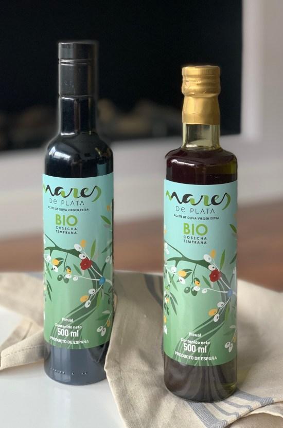 2 botellas de AOVE Mares de Plata Bio