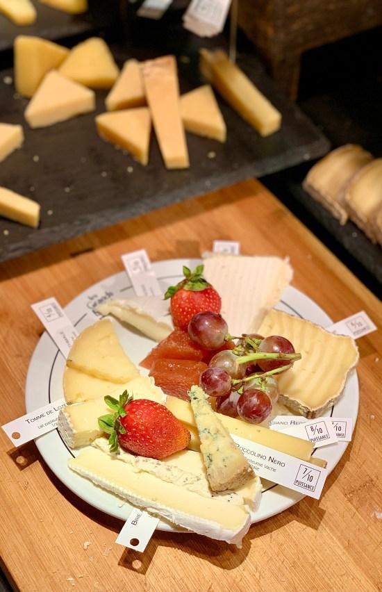selección de quesos
