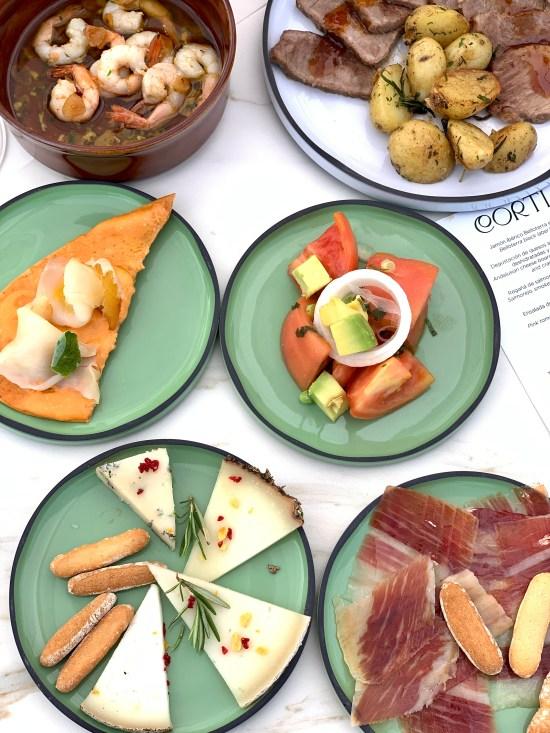 Tapas del restaurante Cortijo en SO/ Sotogrande