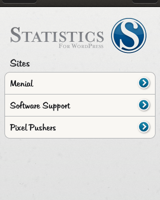 Move Over Google Analytics, The WordPress iPhone Stats App Has Arrived!