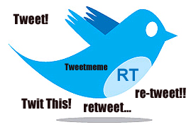 Retweet Twitter Bird