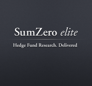 SumZero Social Network for financiers