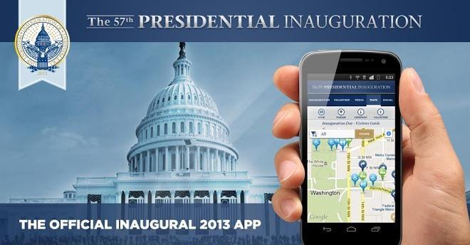 Presidential Inauguration App