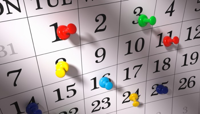 increase blog traffic events calendar