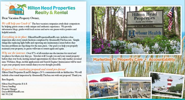 Hilton Head Properties R and R