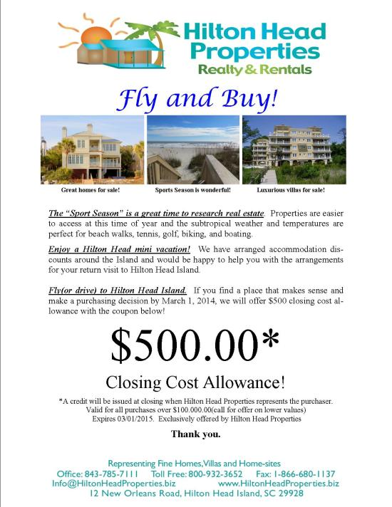 Hilton Head Properties Fly and Buy