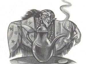 Tazas de té y garras de hipogrifo