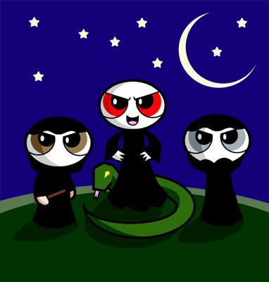 Voldemort y Mortifagos