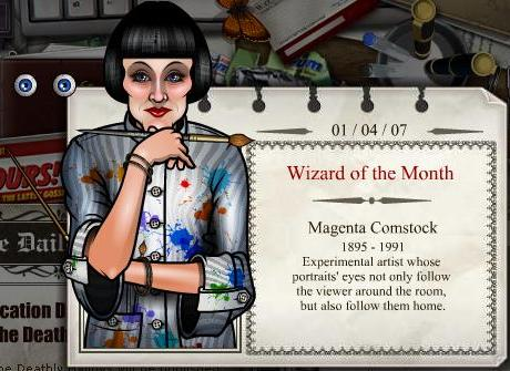 Magenta Comstock