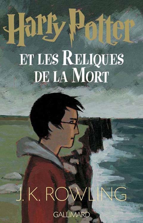Portada Francesa para Harry Potter and The Deathly Hallows
