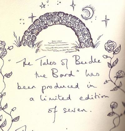 Solo 7 copias de The Tales of Beedle the Bard existen