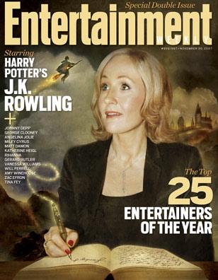 Entertainment Weekly elige a J.K. Rowling como Artista del Año