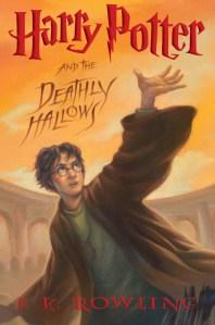 Portada Scholastic Deathly Hallows